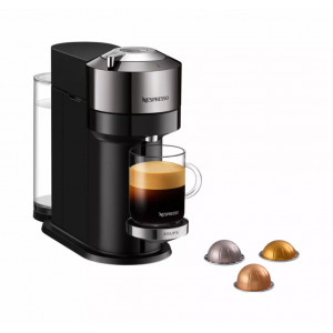 Nespresso Krups Vertuo Next Deluxe Dark Chrome XN910CCH