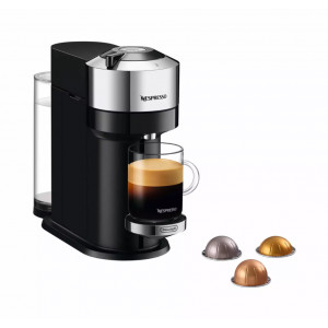 Nespresso Delonghi Vertuo Next Deluxe Pure Chrome ENV120.C