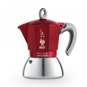 Bialetti Moka Induction rouge 6 tasses