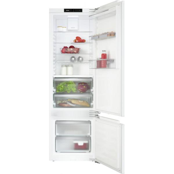 Réfrigérateur à intégrer Miele KF 7742 D, système de fixation directe sur la porte