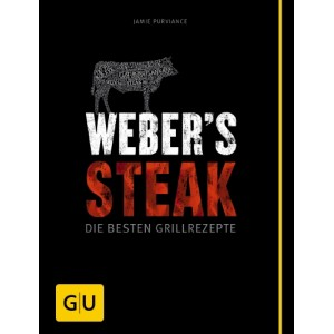 "Weber Livre de recettes ""Steak"" allemand 22858"