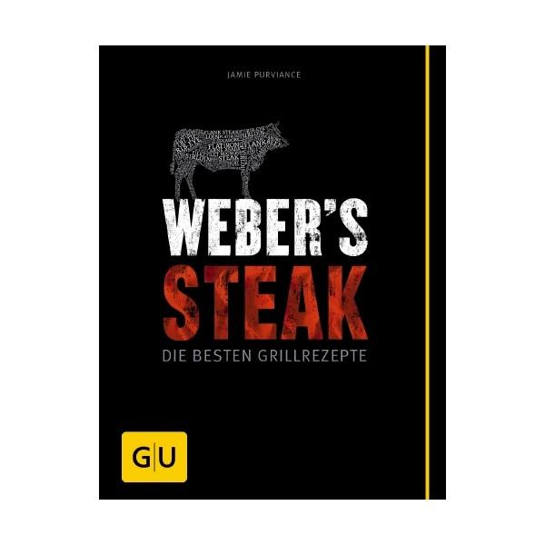 """Weber Rezeptbuch """"Steak"""" deutsch 22858"""