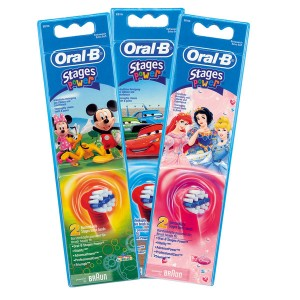 Brossettes Braun Oral-B Stages Power