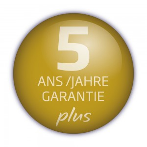 Prolongation de garantie à 5 ans