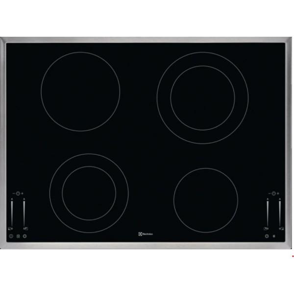 Plan de cuisson vitrocéramique Electrolux avec commande à curseur GK69TSCN