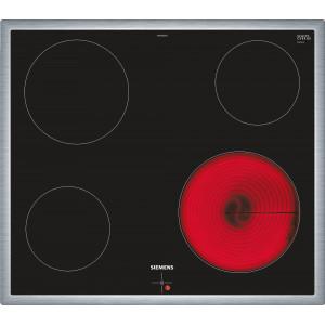 Plan de cuisson vitrocéramique Siemens EA645GEA1C inox