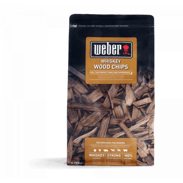 Copeaux de fumaison whiskey Weber 17627 - 700 g