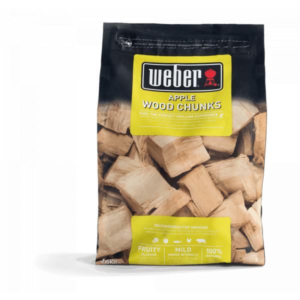 Morceaux de bois pommier Weber 17616 - 1.5 kg