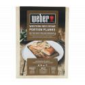 Weber Planches à fumer en bois de cèdre 17832 - taille pour portion individuelle, 4 pièces