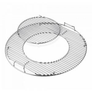 Weber Gourmet BBQ System - Grillrost mit Grillrosteinsatz 8843 57 cm Edelstahl