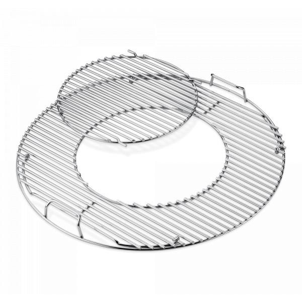 Gourmet BBQ System - Grillrost mit Grillrosteinsatz Weber 8843 57 cm Edelstahl