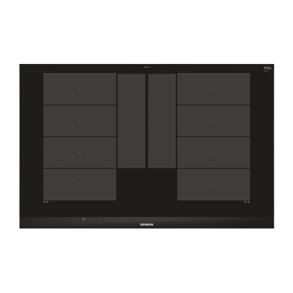 Induktions-Glaskeramik Siemens EX875LYE3E - Flacetten-Design