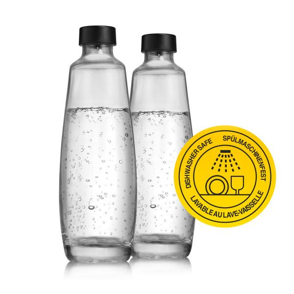 Duopack Carafe en verre DUO SodaStream 2x 1L 1047202410