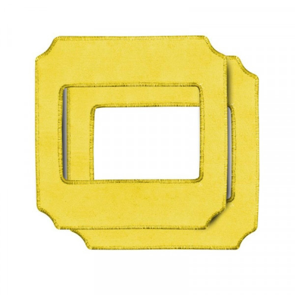 Oooway Ooobot Vitres Pro - Mikrofasern 2 Stk - gelb