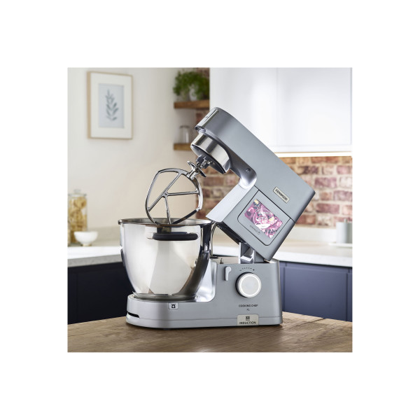 Kenwood Cooking Chef Connect KCL95.424SI avec mixer KAH359GL et Food processor KAH647PL