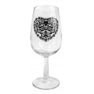 Weinglas für Degustation 21.5 cl mit Herz - 26 000 982