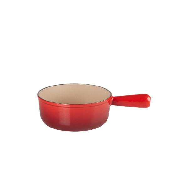 Caquelon à fondue rond Le Creuset 20007200602460 - Ø 20 cm - 1.9 L - rouge cerise