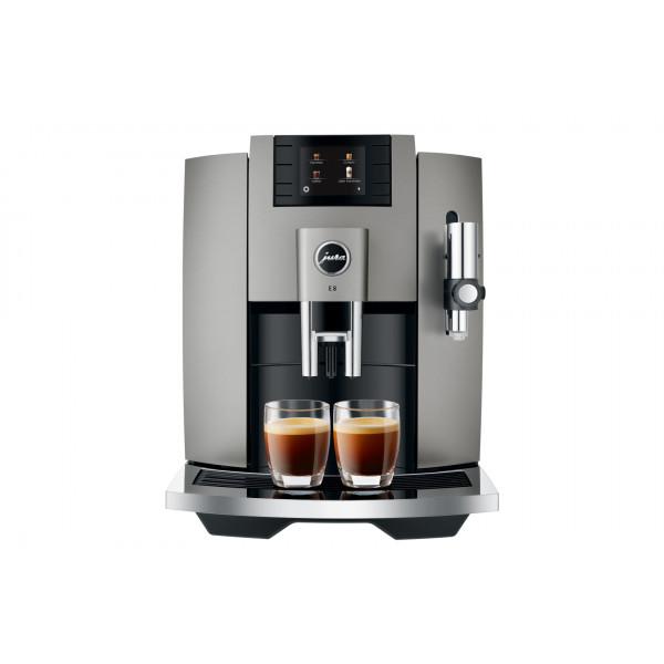 JURA Machine à café E8 Dark Inox (SB)