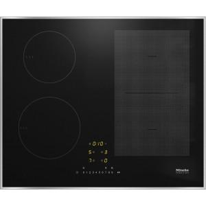 Induktions-Glaskeramik-Kochfeld Miele KM 7464 FR Edelstahlrahmen