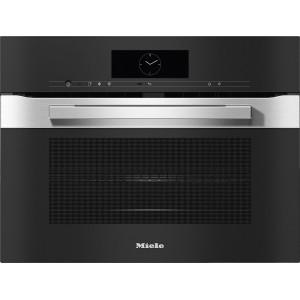 Four compact avec micro-ondes Miele H 7840-60 BM