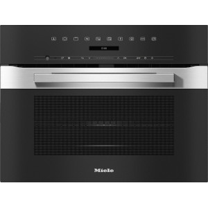 Four compact avec micro-ondes Miele H 7240-60 BM