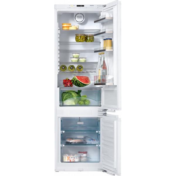 Réfrigérateur à intégrer Miele KF 37533-55 iD, système de fixation directe sur la porte
