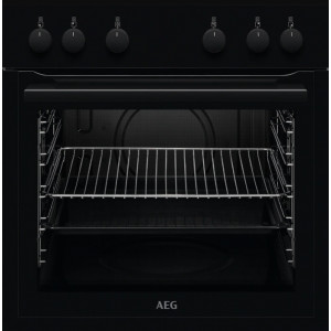 Einbau-Kochherd AEG EHAB schwarz