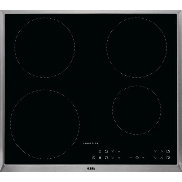 Plan de cuisson vitrocéramique à induction AEG KFA58SIM
