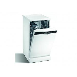Lave-vaisselle Siemens SR23HW64KE blanc - indépendant 45cm