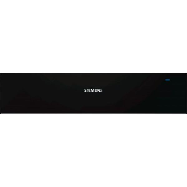 Wärmeschublade Siemens BI630CNS1 Schwarz