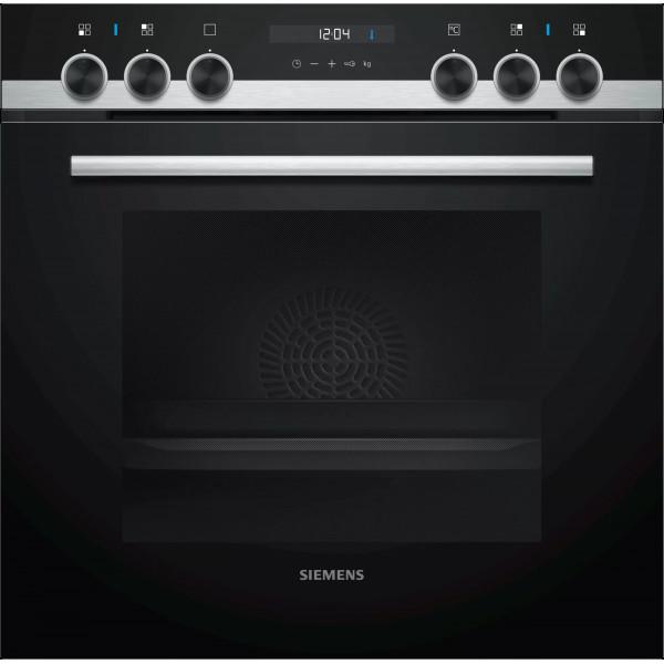 Einbau-Kochherd Siemens HE557HBS1C Edelstahl