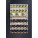 Einbau-Weinschrank V-Zug Winecooler SL 60 Spiegelglas, nero, bandung links - 5107500002