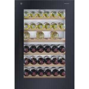 Cave à vin encastrable V-zug Winecooler SL 60 Miroir, nero charnières à droite - 5107500012