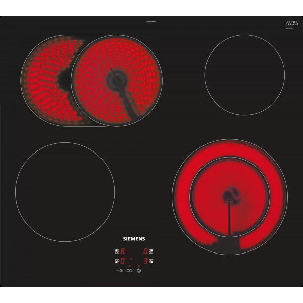 Plan de cuisson vitrocéramique Siemens EF601HNA2C