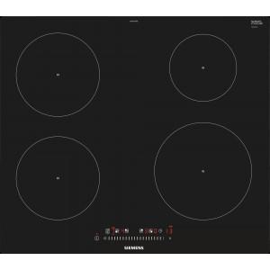 Plan de cuisson vitrocéramique à induction Siemens EH601FEB1E