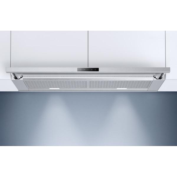Hotte intégrée Zug AiroClearEncastrable V6000 60 cm ChromClass 6105800001