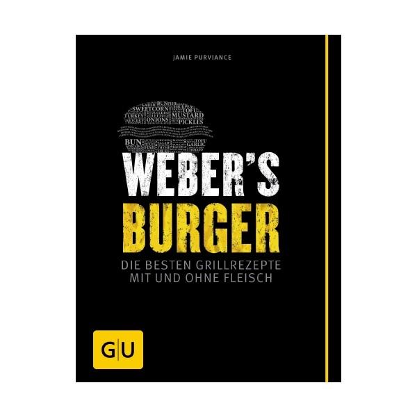 """Weber Livre de recettes """"Burger"""" allemand 33359"""