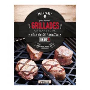 """Weber Livre de recettes """"Grillades"""" français 315267"""