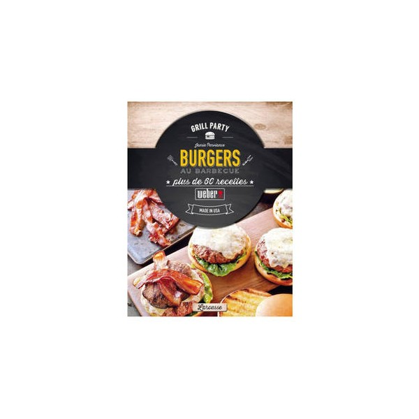 """Weber Rezeptbuch """"Burger"""" französisch 315268"""