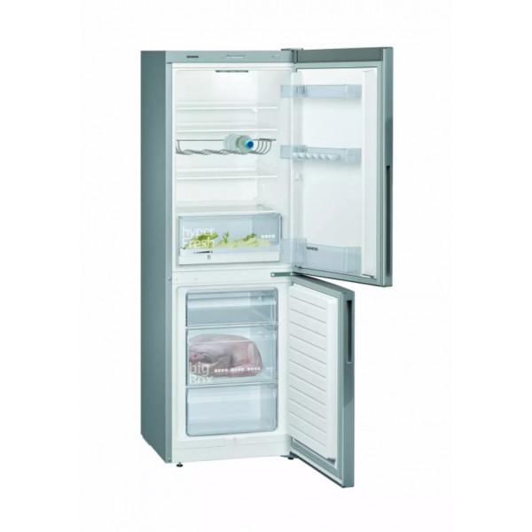 Réfrigérateur-congélateur Siemens KG33VVLEA inox-look