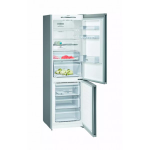 Réfrigérateur-congélateur Siemens KG36NVIEC inox-anti traces