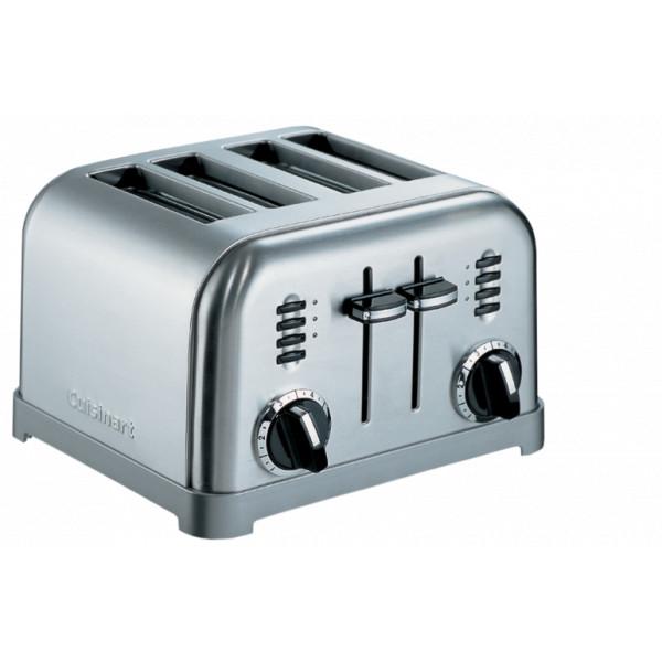 Grille-pain Cuisinart CPT180E acier brossé