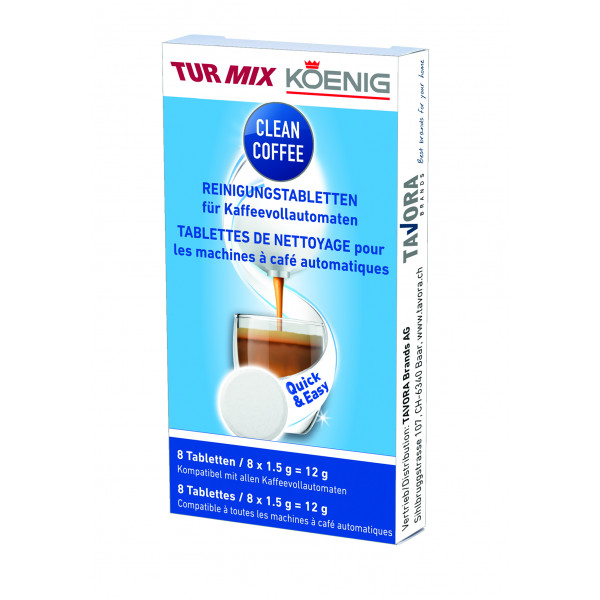 Clean Coffee 8 tablettes A11491
